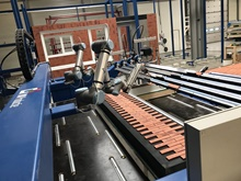 Steenstrip aanbreng CNC machine
